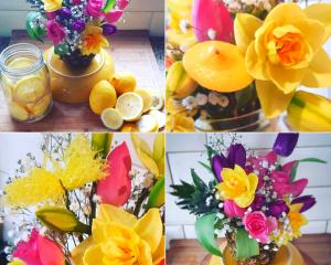 Fruit Floral Arrangement